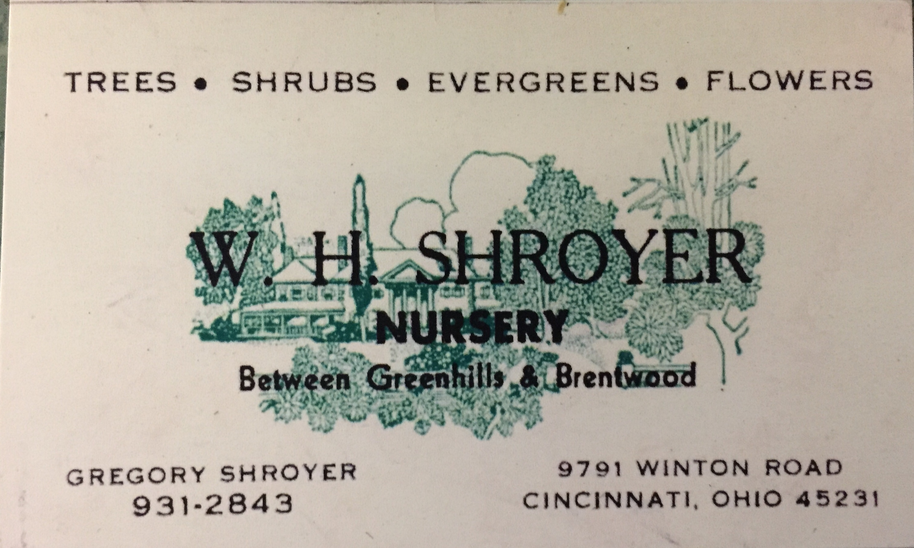 W. H. Shroyer Nursery LLC
